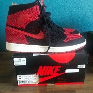 Jordan 1 bred flyknit